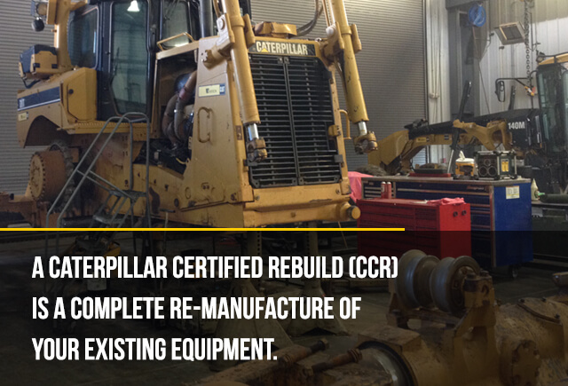caterpillar certified rebuild