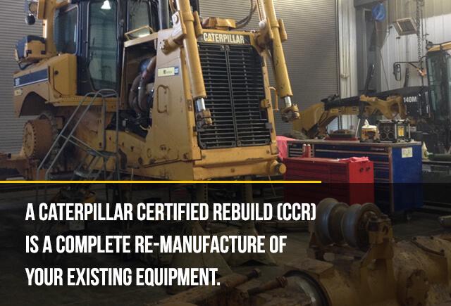 caterpillar certified rebuild