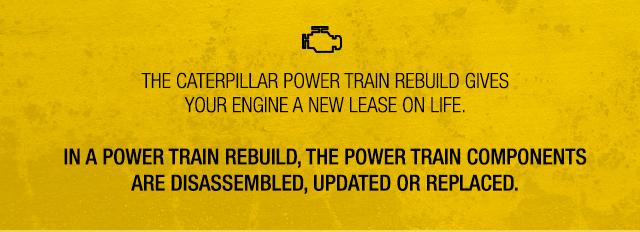 cat powertrain rebuild