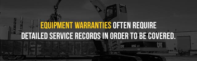 equipment warranties