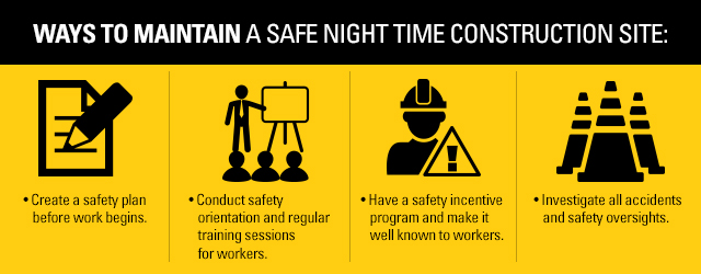 night construction safety