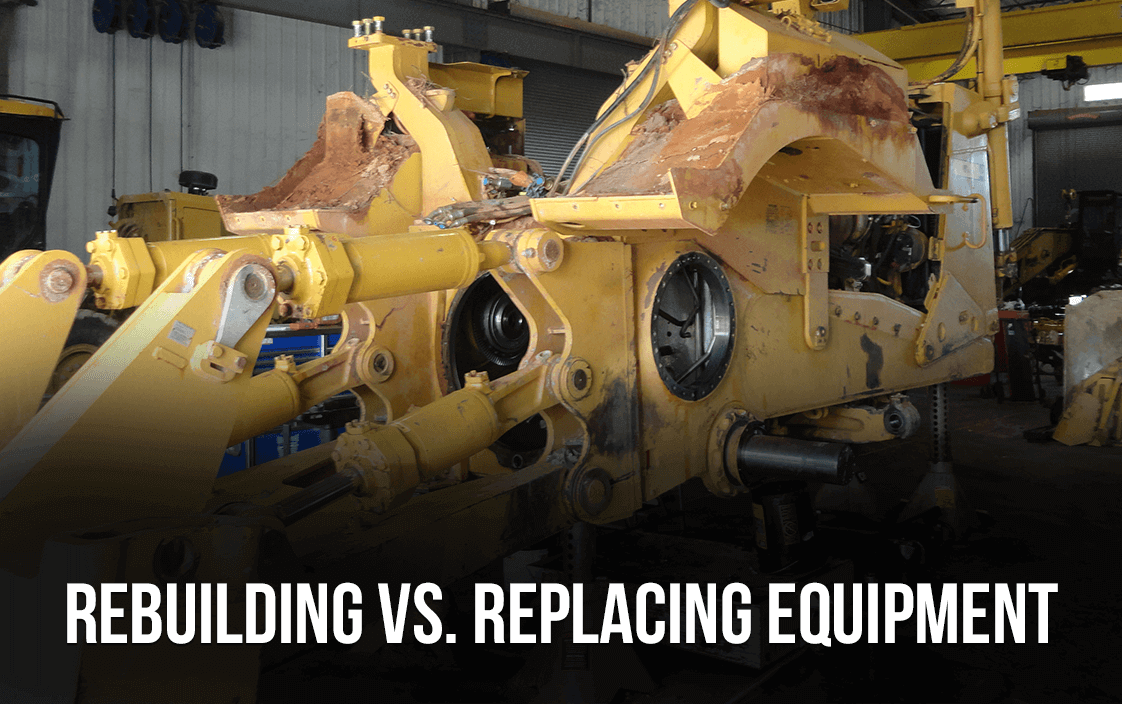 Replace or Rebuild Equipment   Warren CAT