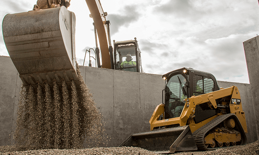 Construction Equipment Size Guide - Warren CAT