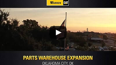Heavy equipment sales caterpillar dealer of tx ok warren cat oklahoma city warehouse expansion play the video below to see how were continuously building upon our capabilities to better serve customers fandeluxe Images