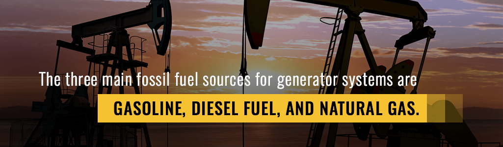 generator fuel types