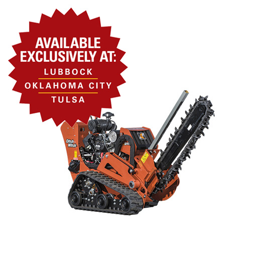 Rent A Trencher In Oklahoma And Texas Warren Cat