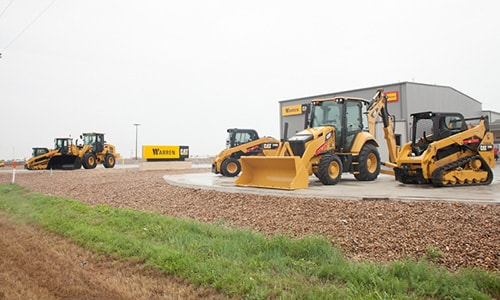 cat equipment rentals in dalhart tx