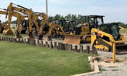 cat equipment rentals in enid ok
