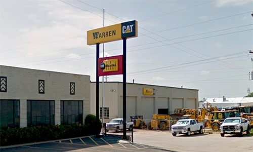cat equipment rental in wichita falls tx